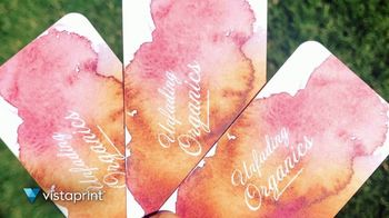 Vistaprint TV Spot, 'Own The Now: Business Cards Artfully Designed' Song by Norman - Thumbnail 6
