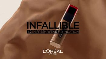 L'Oreal Infallible Fresh Wear Foundation TV Spot, 'Demand More' Featuring Luma Grothe - Thumbnail 2