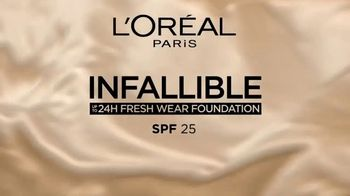 L'Oreal Infallible Fresh Wear Foundation TV Spot, 'Demand More' Featuring Luma Grothe - Thumbnail 8