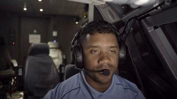 Alaska Airlines TV Spot, 'Flight Training 101 With Our CFO' Featuring Russell Wilson
