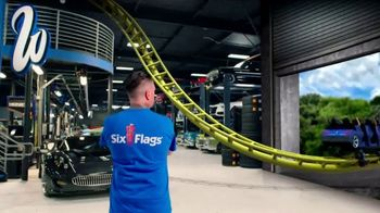 Six Flags Magic Mountain TV Spot, 'West Coast Racers: Save Up to $30' Feat. Ryan Friedlinghaus - Thumbnail 2