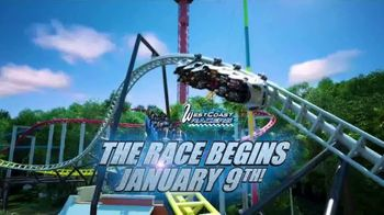 Six Flags Magic Mountain TV Spot, 'West Coast Racers: Save Up to $30' Feat. Ryan Friedlinghaus - Thumbnail 4