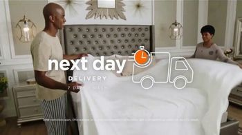 Ashley HomeStore Sale & Clearance Mattress Event TV Spot, 'Next Day Delivery' - Thumbnail 6