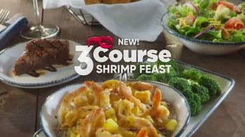 Red Lobster 3-Course Shrimp Feast TV Spot, \'Build Your Perfect Feast\'