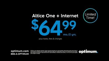 Optimum Altice One + Internet TV Spot, 'New Year's: $100 Gift Card'