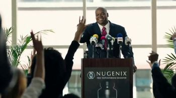 Nugenix Total-T TV Spot, 'Press Conference: Free Nugenix Thermo' Featuring Frank Thomas - 6420 commercial airings