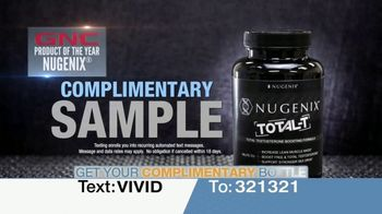 Nugenix Total-T TV Spot, 'Press Conference: Free Nugenix Thermo' Featuring Frank Thomas - Thumbnail 6