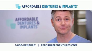 Affordable Dentures TV Spot, 'Free Consult and Free X-Ray'