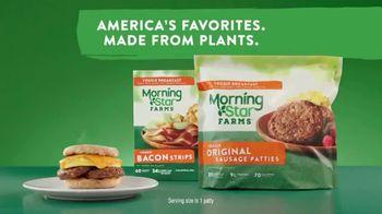 Morningstar Farms Original Veggie Sausage Patties TV Spot, 'Made From Plants. Kid Approved.' - Thumbnail 7