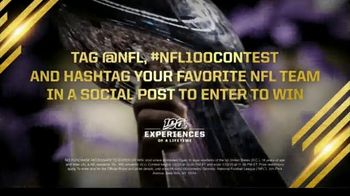 NFL 100 TV Spot, 'Experiences of a Lifetime: Launch the Confetti' - Thumbnail 10