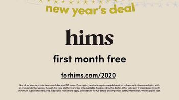 Hims New Year's Deal TV Spot, 'Join the Party'