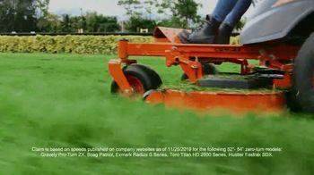 Kubota Z400 TV Spot, 'Green Blades of Glory' - Thumbnail 6