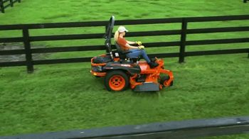 Kubota Z400 TV Spot, 'Green Blades of Glory' - 190 commercial airings