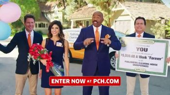 Publishers Clearing House TV Spot, '$5,000 a Week: Last Chance Forever' Featuring Steve Harvey - Thumbnail 1