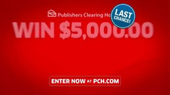 Publishers Clearing House TV Spot, '$5,000 a Week: Last Chance Forever' Featuring Steve Harvey - Thumbnail 9