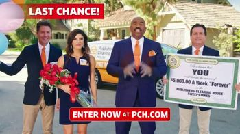 Publishers Clearing House TV Spot, '$5,000 a Week: Last Chance Forever' Featuring Steve Harvey - Thumbnail 2