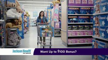 Jackson Hewitt TV Spot, 'Walmart: Shopping Overload'