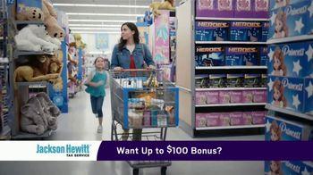 Jackson Hewitt TV Spot, 'Walmart: Shopping Overload' - Thumbnail 4