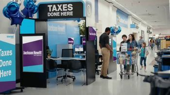 Jackson Hewitt TV Spot, 'Walmart: Shopping Overload' - Thumbnail 5