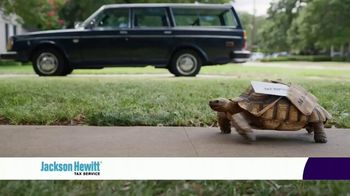 Jackson Hewitt TV Spot, 'Turtle Refund Advance' - 5302 commercial airings