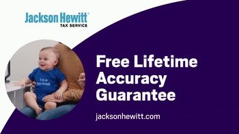 Jackson Hewitt TV Spot, 'Twins: Lifetime Accuracy Guarantee' - Thumbnail 10