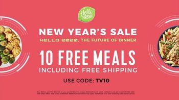 HelloFresh New Year's Sale TV Spot, 'Val & Ryan: Ten Free Meals' - Thumbnail 7