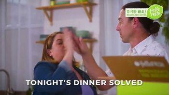 HelloFresh New Year's Sale TV Spot, 'Val & Ryan: Ten Free Meals'