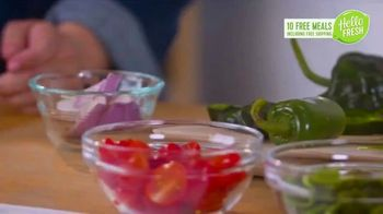 HelloFresh New Year's Sale TV Spot, 'Val & Ryan: Ten Free Meals' - Thumbnail 3