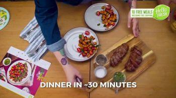 HelloFresh New Year's Sale TV Spot, 'Val & Ryan: Ten Free Meals' - Thumbnail 4