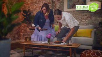 HelloFresh New Year's Sale TV Spot, 'Val & Ryan: Ten Free Meals' - Thumbnail 5