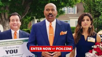 Publishers Clearing House TV Spot, '$5,000 a Week: What Are You Waiting For?' Featuring Steve Harvey - 1303 commercial airings