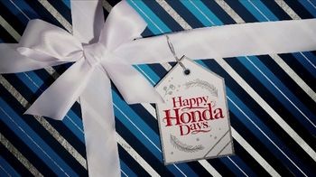 Happy Honda Days TV Spot, 'Unwrap the Joy: Civic and Accord' Song by Earth, Wind and Fire [T2] - Thumbnail 1