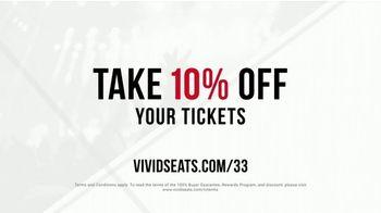 Vivid Seats TV Spot, 'The Best Seats' - Thumbnail 9