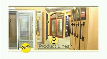 Pella TV Spot, 'Eight Product Lines'