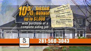Beldon Siding TV Spot, '10% Instant Rebate' - Thumbnail 7