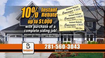 Beldon Siding TV Spot, '10 Percent Instant Rebate' - Thumbnail 6