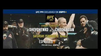 ESPN+ UFC 247 TV Spot, 'Shevchenko vs. Chookagian' - Thumbnail 7