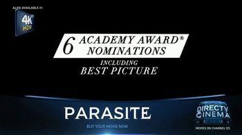 DIRECTV Cinema TV Spot, 'Parasite'