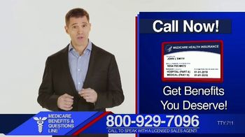Medicare Benefits & Questions Line TV Spot, 'Approved Benefits' - Thumbnail 2