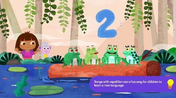 Noggin TV Spot, 'Counting in Spanish with Dora' - Thumbnail 6