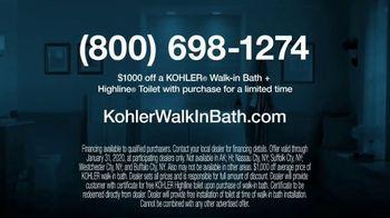 Kohler TV Spot, '$1,000 Off Walk-In Bath and Free Highline Toilet' - Thumbnail 10