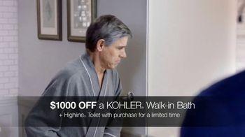 Kohler TV Spot, '$1,000 Off Walk-In Bath and Free Highline Toilet' - Thumbnail 4
