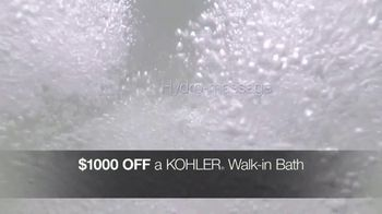 Kohler TV Spot, '$1,000 Off Walk-In Bath and Free Highline Toilet' - Thumbnail 7
