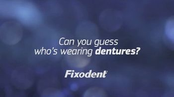 Fixodent Ultra Dual Power TV Spot, 'Can You Guess Who's Wearing Dentures?' - Thumbnail 1