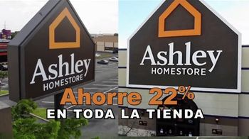 Ashley HomeStore Súper Venta TV Spot, '22 por ciento' [Spanish] - Thumbnail 2
