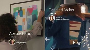 Etsy TV Spot, 'No One Like You: Bedding, Jacket, Ottoman and More' - Thumbnail 3