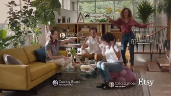 Etsy TV Spot, 'No One Like You: Bedding, Jacket, Ottoman and More' - Thumbnail 9
