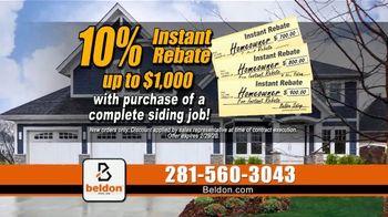 Beldon Siding TV Spot, '3D Model: 10 Percent Rebate and Gift Cards' - Thumbnail 6