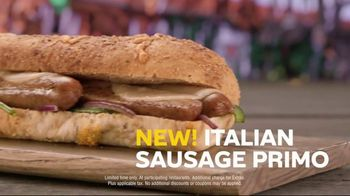 Subway Italian Sausage Primo TV Spot, \'Don\'t Just Eat\'