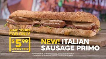Subway Italian Sausage Primo TV Spot, 'Don't Just Eat' - Thumbnail 3